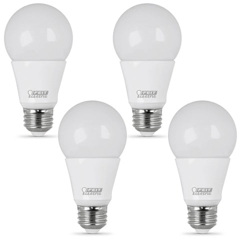 LED 9W A19 DIM 3000K (4 PACK) 61659-FETc