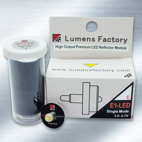 E1-LED Single Mode LED Assembly. XP-G2, S5 LED #64031-LF