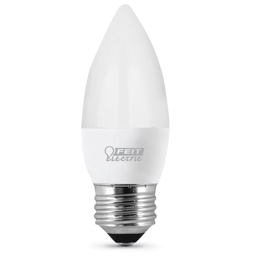 4.5W LED (40W Equiv) 11000hr 27K Frost Torpedo Candelabra Base (Case of 6 3-Packs) 64716-FETc