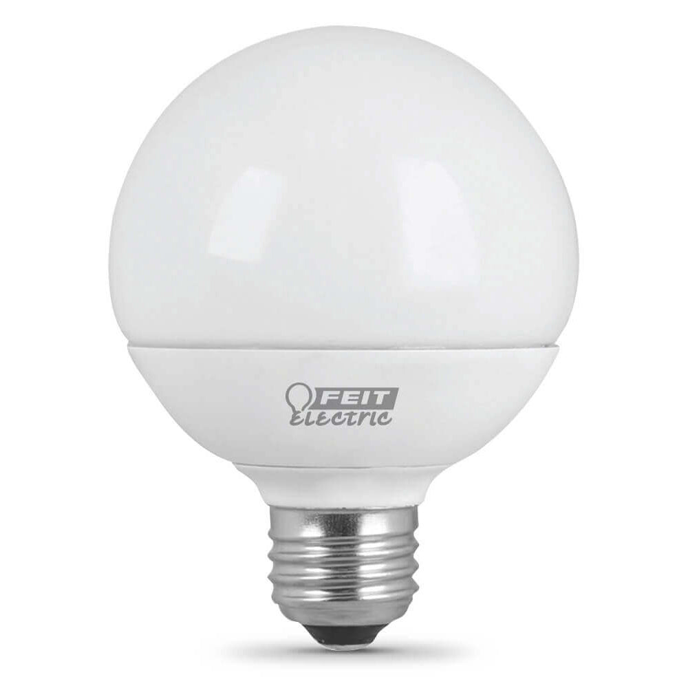 8.5W LED (60W Equiv) Globe 11000hr Frost 30K (Case of 5 3-Packs) 64718-FETc