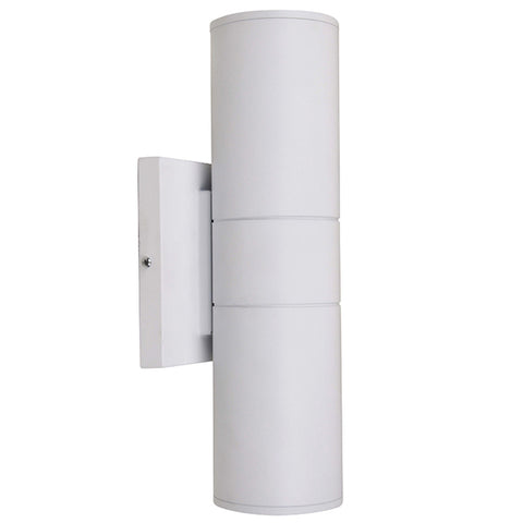 10W LED Up Down Wall Sconce (90W Equivalent) 3000K Wet Locations White 64889-LD