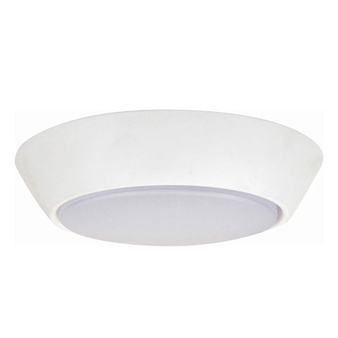 "7"" LED Flush Mount Compact 10W (75W Equivalent) 3000K 64633-LD"