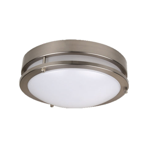 "12"" LED Flush Mount Modern 18W (120W Equivalent) 120-277V 4000K Dimmable 62847-LD"
