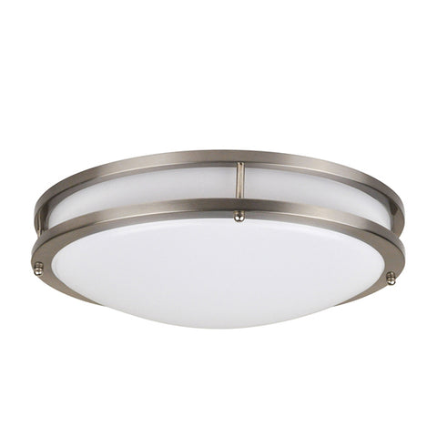 "14"" LED Flush Mount Modern 22W (150W Equivalent) 120V 4000K Dimmable 64628-LD"
