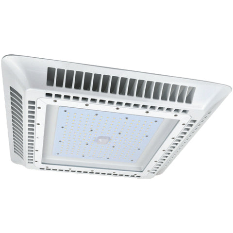 150W LED Gas Station Canopy (>400W Equivalent) 20,041 Lumens 5000K Dimmable DLC IP65 64692-LD