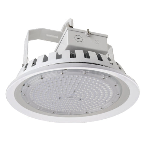 "14"" LED 162W Round High Bay (400-575W Equivalent) 5000K 21,636 Lumens Dimmable 64796-LD"
