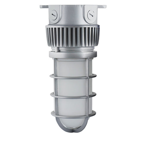20W LED Vapor Tight Jelly Jar 4000K (150W Incand/70W HID Equivalent) Dimmable Ceiling Mount 64884-LD
