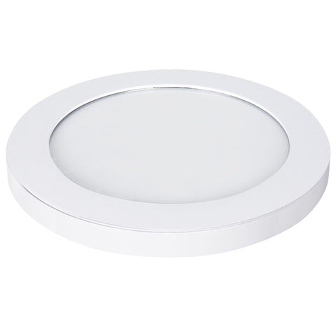 "12.5W LED 11"" Circular Flat Panel 4K Flush Mount Ceiling Fixture #64733-FET"