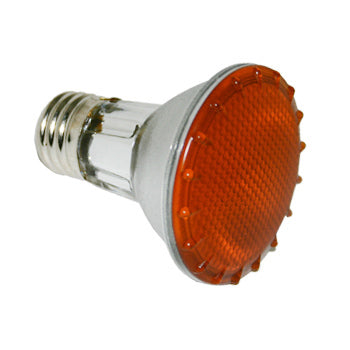 PAR20 Amber 50W NFL Colored Light Bulb #10700