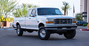 1996 Ford F250 7.3L 4x4 Ext Cab