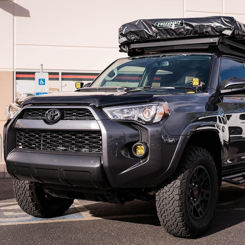 Gray 4Runner with Roof Top Tent