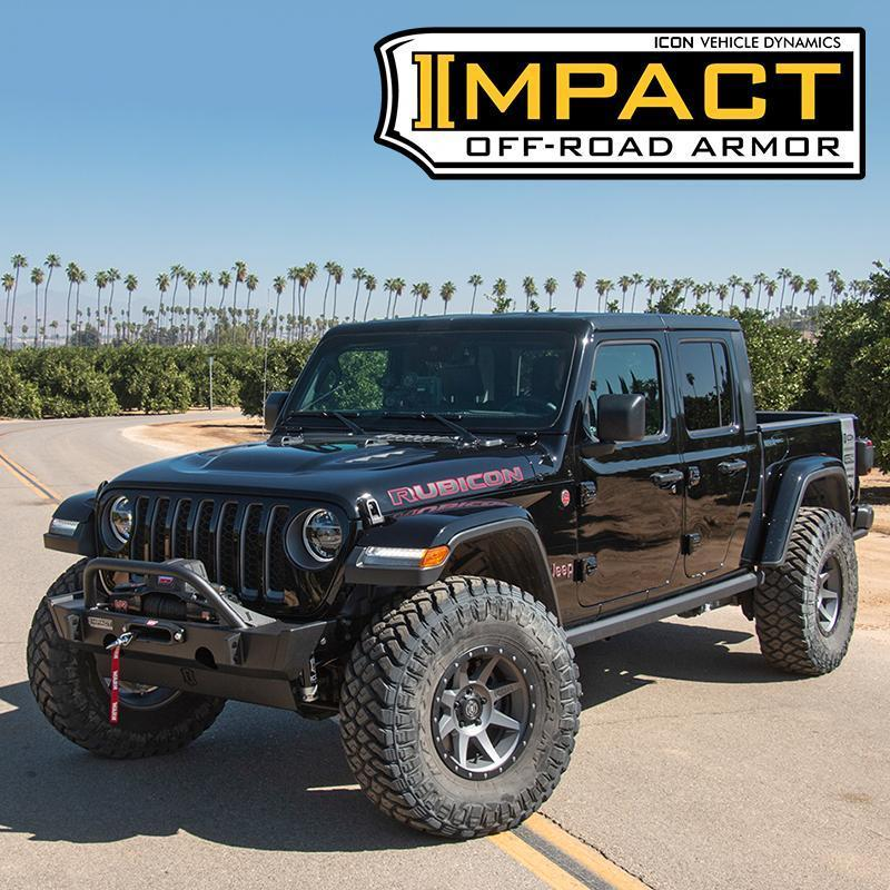 Icon Vehicle Dynamics | '20-Current Jeep Gladiator (JT) Impact Series Armor