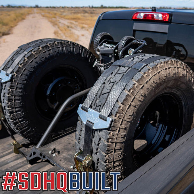 SDHQ BUILT IN BED CHASE RACK   CHEVY/GMC