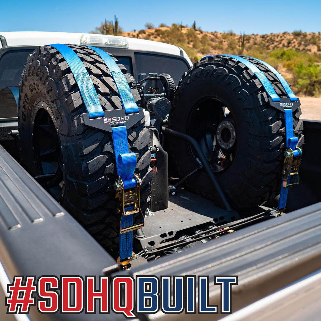 SDHQ Built In Bed Chase Rack   Ford