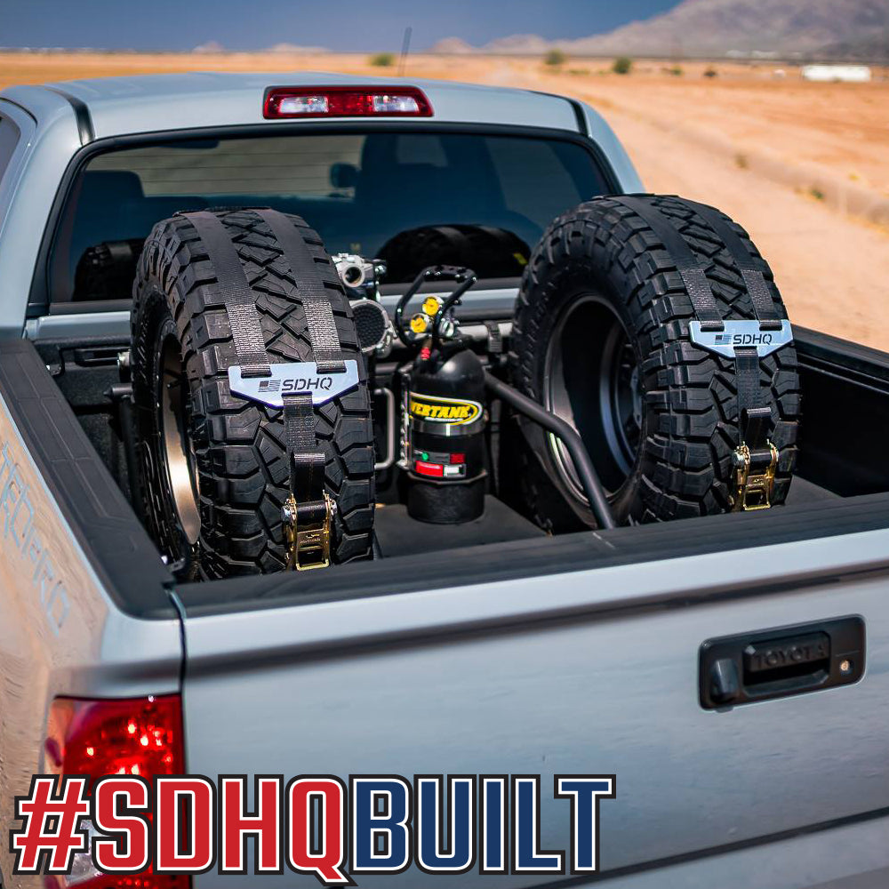 SDHQ Built In Bed Chase Rack   Toyota