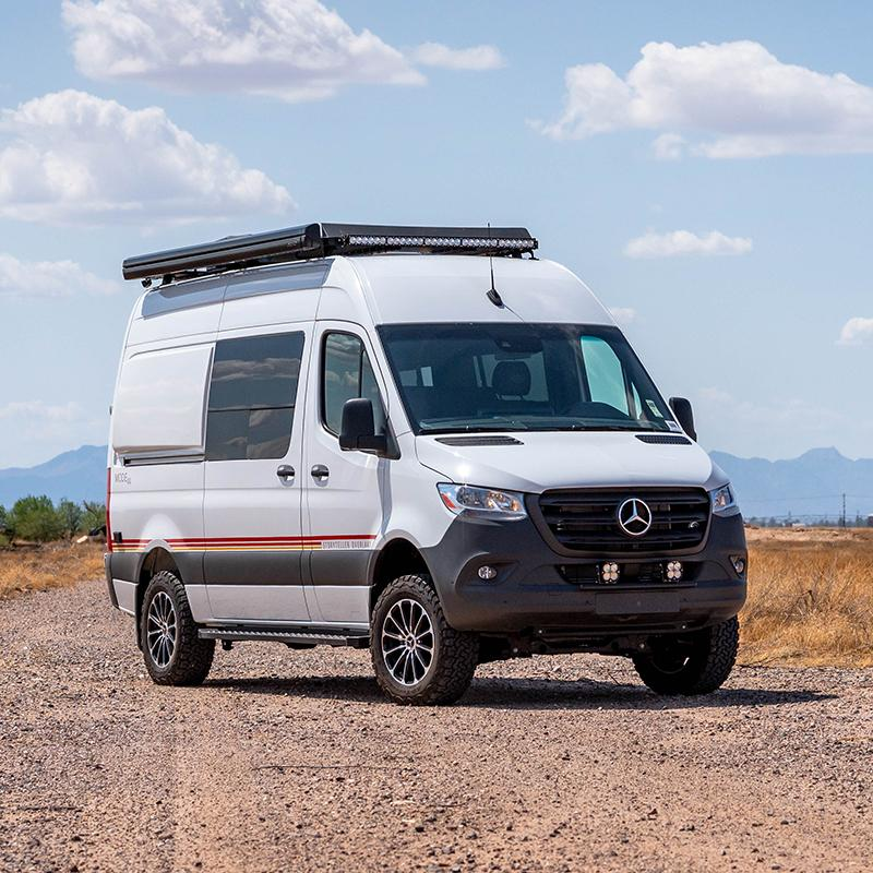 SDHQ Outfitted Mercedes Sprinter Van
