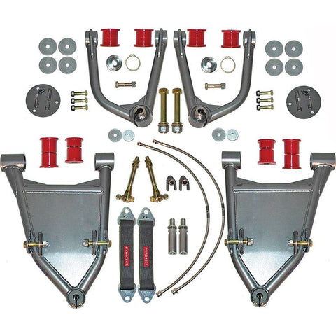 "'00-06 Toyota Tundra 3.5"" Tubular Long Travel Kit Suspension Total Chaos Fabrication"
