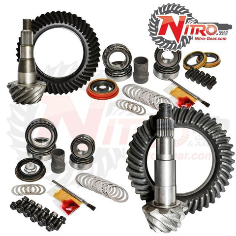 '11-Current Ford F150 Front and Rear Gear Package Kit Drivetrain Nitro Gear and Axle