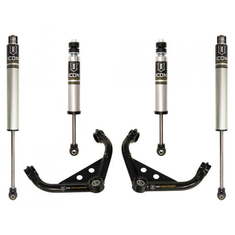 "'01-10 Chevy/GM 2500/3500HD 0-2"" Suspension System-Stage 2 Suspension Icon Vehicle Dynamics"
