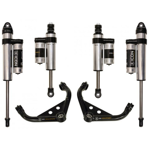"'01-10 Chevy/GM 2500/3500HD 0-2"" Suspension System-Stage 3 Suspension Icon Vehicle Dynamics"