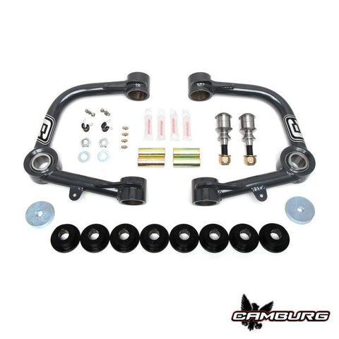 '01-10 Chevy/GM 2500/3500HD 1.25 Uniball Performance Upper Control Arm Kit Suspension Camburg Engineering