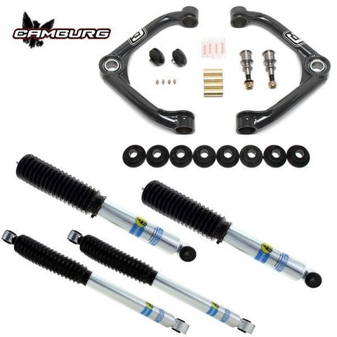 '01-10 Chevy/GM 2500/3500HD Bilstein Performance Kit Suspension Camburg Engineering