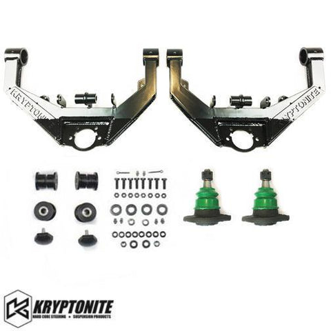 01-10 Chevy/GMC 2500/3500HD Upper Control Arm Kit w/ Stage 2 Dual Shock Mount Suspension Kryptonite