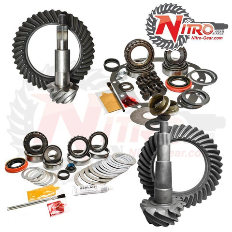 '02-10 Ford F250/250 Front and Rear Gear Package Kit Drivetrain Nitro Gear and Axle