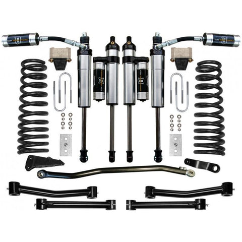 "'03-08 RAM 2500/3500 4.5"" 4WD Suspension System-Stage 4 Suspension Icon Vehicle Dynamics"
