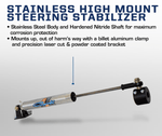 '03-08 Ram 2500/3500 Y-Style High Mount Stabilizer Suspension Carli Suspension