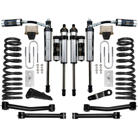 "03-12 Dodge 2500/3500 4.5"" 4WD Suspension System - Stage 3 Suspension Icon Vehicle Dynamics"