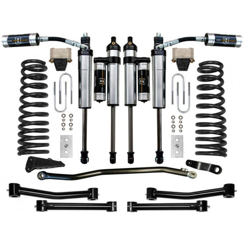 "03-12 Dodge 2500/3500 4.5"" 4WD Suspension System - Stage 4 Suspension Icon Vehicle Dynamics"