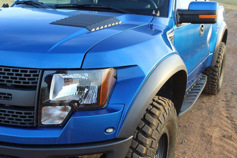 04-14 Ford F150 to Raptor OEM Style Conversion Kit Fiberglass Fiberwerx