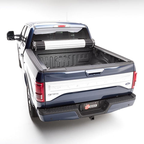 04-Current Ford F150 X2 Revolver Tonneau Cover Bed Cover BAK Flip