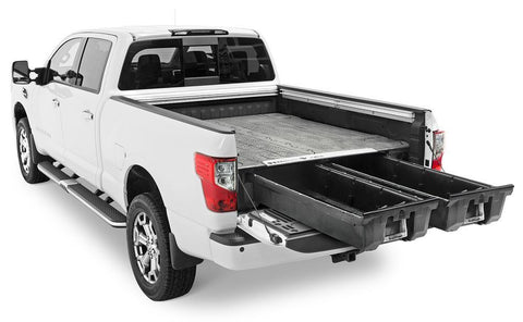 04-Current Nissan Titan Truck Bed Storage Organization Decked