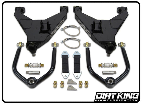 05-15 Nissan Frontier Long Travel Kit Suspension Dirt King Fabrication