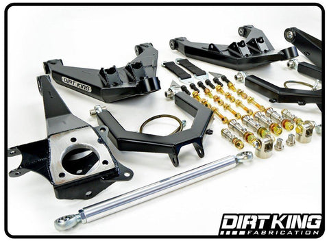 05-15 Nissan Frontier Long Travel Race Kit Suspension Dirt King Fabrication