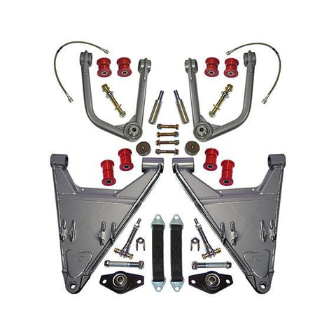 "'05-15 Toyota Tacoma Prerunner/4WD +3.5"" Long Travel Kit Suspension Total Chaos Fabrication"