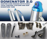 "05-16 Ford F250/350 4.5"" Dominator 3.0 Lift Kit Suspension Carli Suspension"
