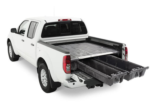 05-Current Nissan Frontier Truck Bed Storage System Organization Decked