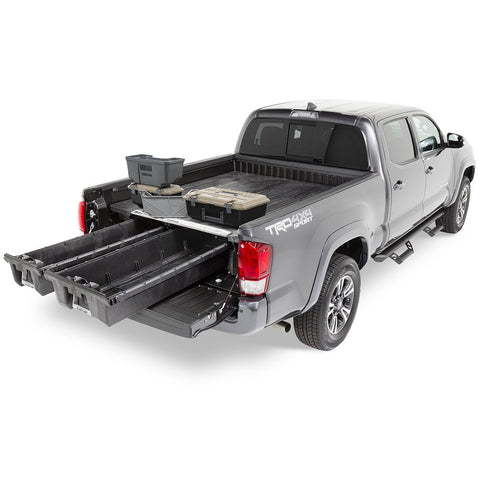 '05-Current Toyota Tacoma Truck Bed Storage System Organization Decked