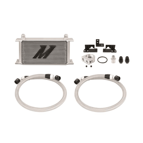 07-11 Jeep Wrangler JK Oil Cooler Kit Performance Products Mishimoto