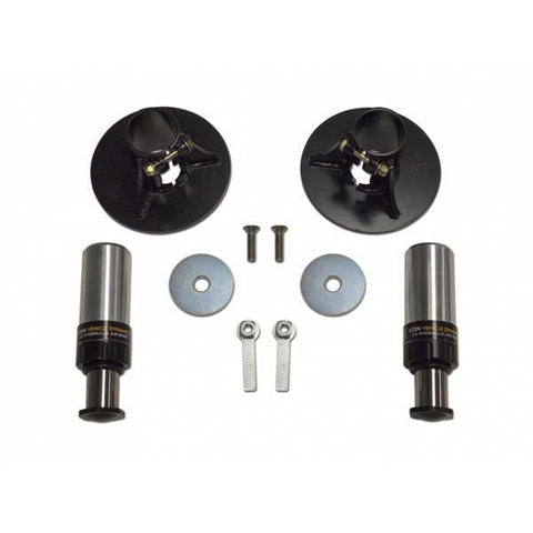 '07-14 Toyota FJ Cruiser/'03-Current 4Runner Rear Hydraulic Air Bumpstop System Icon Vehicle Dynamics - SDHQ Off-Road