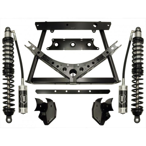 "'07-Current Jeep JK 0-3"" REAR Coilover Conversion System Stage-1 Icon Vehicle Dynamics - SDHQ Off-Road"