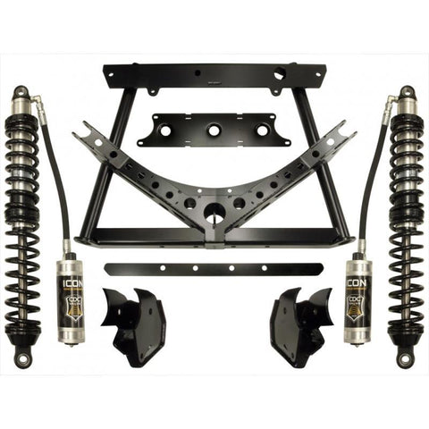 "'07-17 Jeep JK 0-3"" REAR Coilover Conversion System Stage-2 Suspension Icon Vehicle Dynamics"