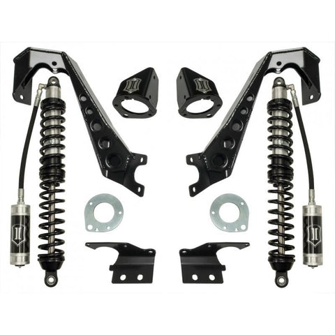 "'07-Current Jeep JK 1.75-4"" FRONT Coilover Conversion System- Stage 1 Icon Vehicle Dynamics - SDHQ Off-Road"