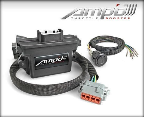 '07-17 Jeep JK Amp'D Throttle Booster w/ Power Switch Electrical Superchips