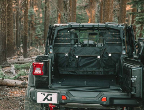 '07-17 Jeep JK Sportsman Molle Edition Interior Accessory XG Cargo
