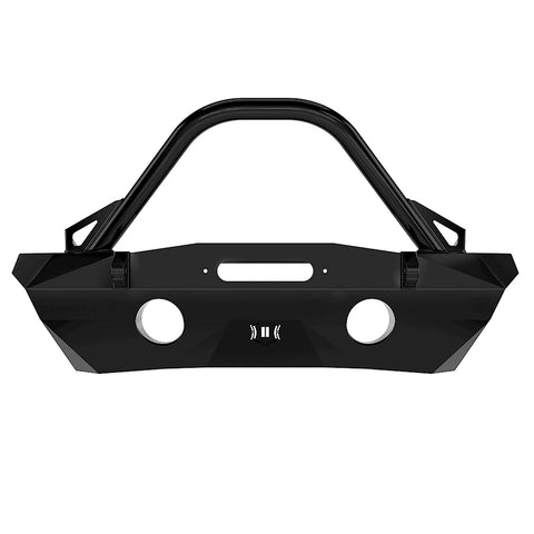 '07-18 Jeep JK Pro Series Winch Mount Front Bumper W/ Bar & Tabs Bumper Impact Series Off-Road Armor