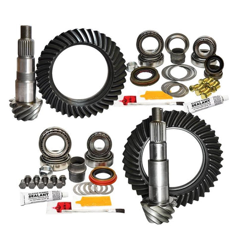 '07-18 Jeep JK Rubicon Front and Rear Gear Package Kit Drivetrain Nitro Gear and Axle